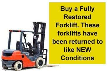 restored forklift - accurate forklift