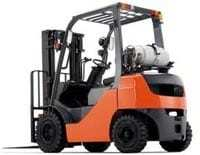 4000 lb capacity forklift rental - Accurate Forklift