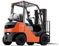 10,000 lb capacity forklift