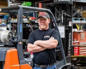 Gary Brand - Accurate Forklift