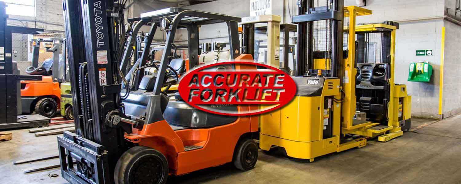 forklift sales - accurate forklift