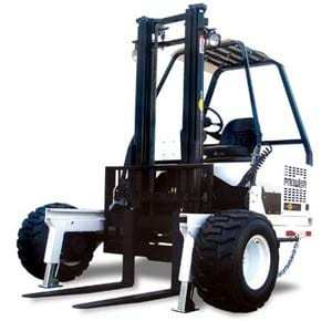 prowler forklift - front view