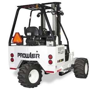 prowler forklift back view