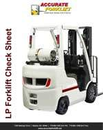 lp forklift check sheet - accurate forklift atlanta