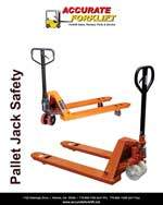 pallet jack safety - accurate forklift